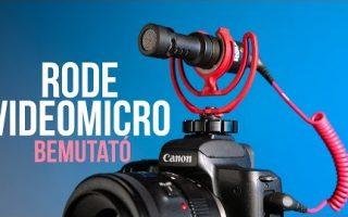 Rode VideoMicro bemutató (teszt)