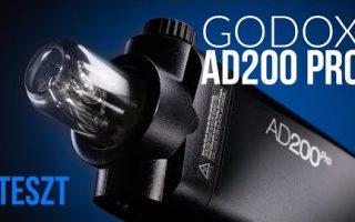 Godox AD200Pro vaku teszt