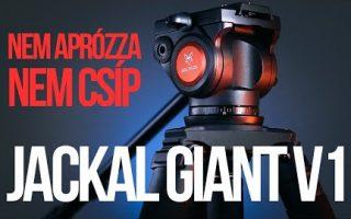 Jackal Giant V1 állvány teszt