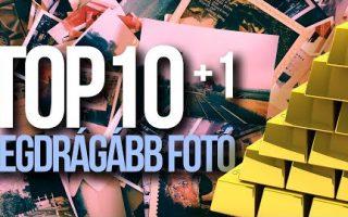 TOP10 (+1) legdrágább fotó a világon