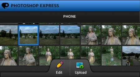 Adobe Photoshop Express - I. rész - vágás és képforgatás 1.