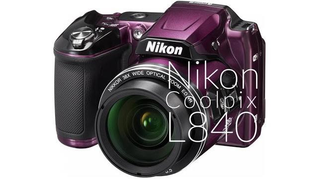 Nikon Coolpix L840 fényképezőgép