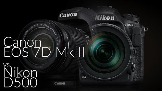 Ketrecharc: Canon EOS 7D Mark II vs. Nikon D500