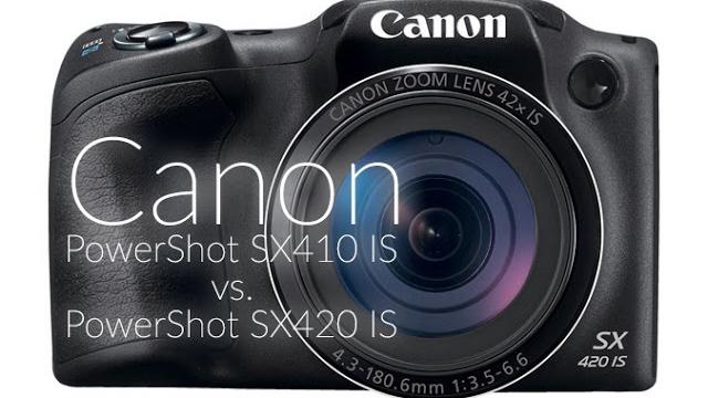 Canon PowerShot SX410 IS vs. SX420 IS fényképezőgép