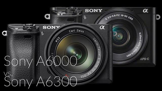 Sony A6000 vs. Sony A6300 MILC fényképezőgép