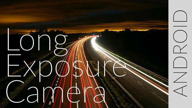 Long Exposure Camera (Android) szoftver bemutató