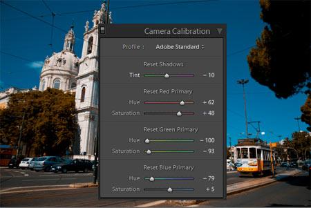 Adobe Lightroom - Színkalibráció 3.