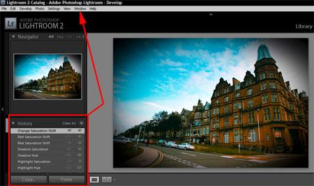 Adobe Lightroom - Visszavonás 1.