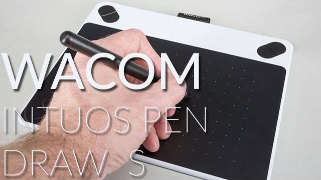 Wacom Intuos Pen S 'Draw' digitális rajztábla teszt