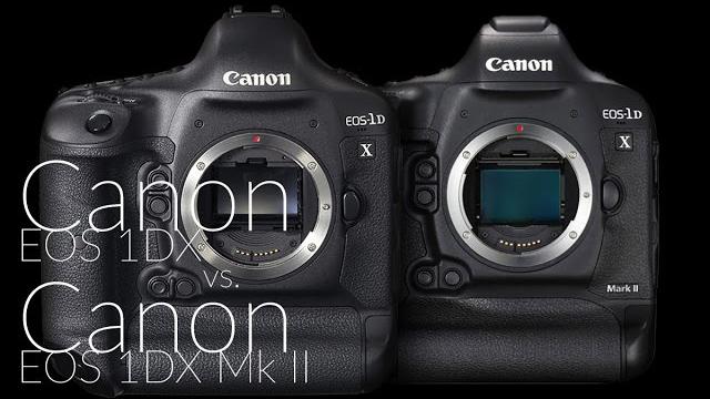 Canon EOS 1DX vs. Canon EOS 1DX Mk II összehasonlítás