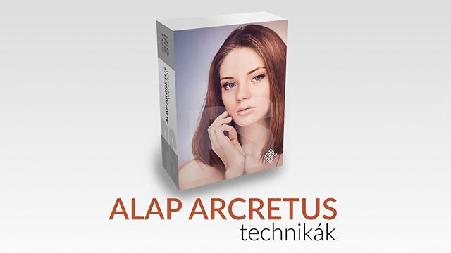 Alap Arcretus photoshop technikák