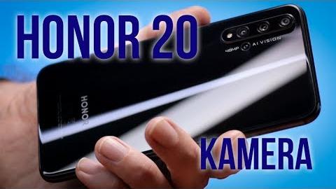 Honor 20 mobiltelefon kamera teszt