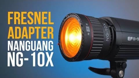 Fresnel adapter - Nanguang NG-10x