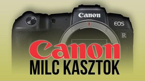 Canon MILC kasztok