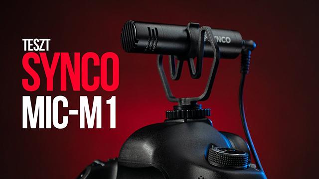 Synco Mic-M1 mikrofon teszt